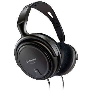 Philips Indoor SHP2000 Headphones (Black)