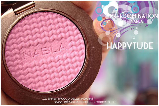 happytude blossom blush nabla cosmetics  recensione freedomination collection summer