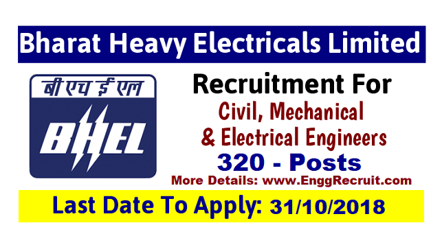 BHEL Recruitment 2018 for Technician Apprentices