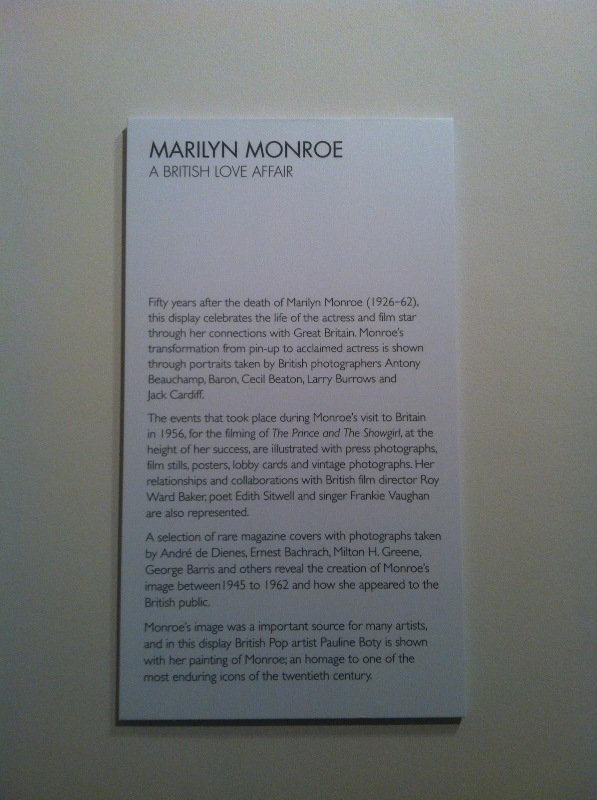 Marilyn Monroe Living Room Decor: Living.in.a.fashion.world: Marilyn Monroe: A British Love