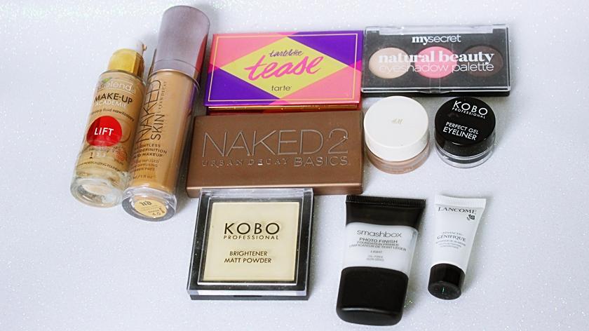 Nowości makijażowe: SMASHBOX, NAKED, TARTE, LANCOME, MY SECRET I INNE