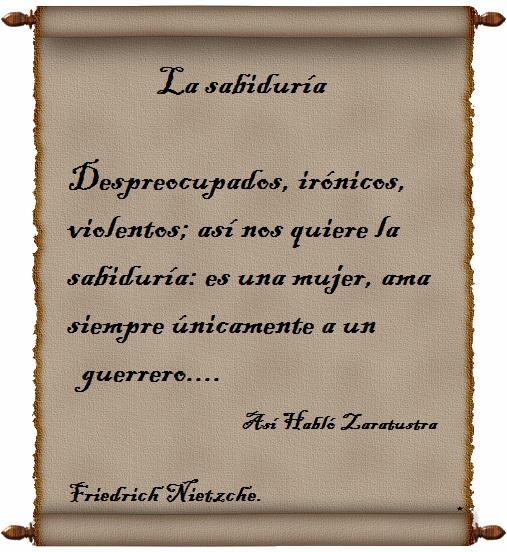 Frases De Nietzsche La Sabiduría