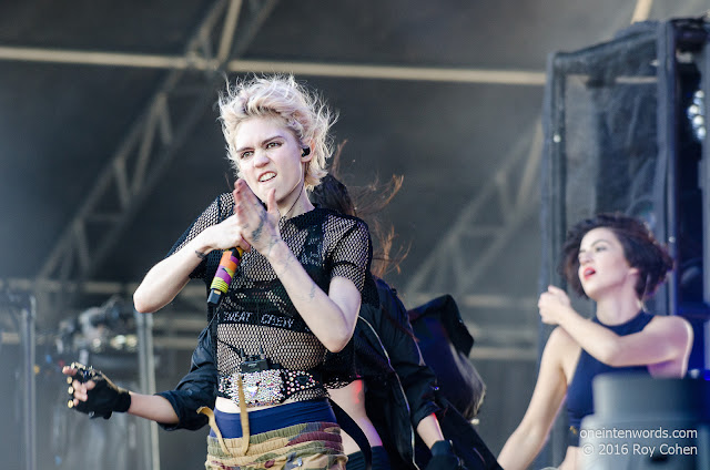 Grimes at Bestival Toronto 2016 Day 2 at Woodbine Park in Toronto June 12, 2016 Photo by Roy Cohen for One In Ten Words oneintenwords.com toronto indie alternative live music blog concert photography pictures