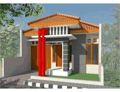 contoh gambar rumah idaman sederhana di daerah kampung