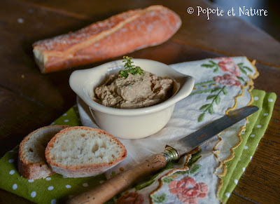 Terrine de foies de volaille à l'orange et au curcuma ©Popote et Nature