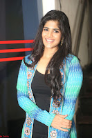 Megha Akash in a beautiful Anarkali dress with Long Jacket at LIE success meet ~  Exclusive Celebrities Galleries 032.JPG