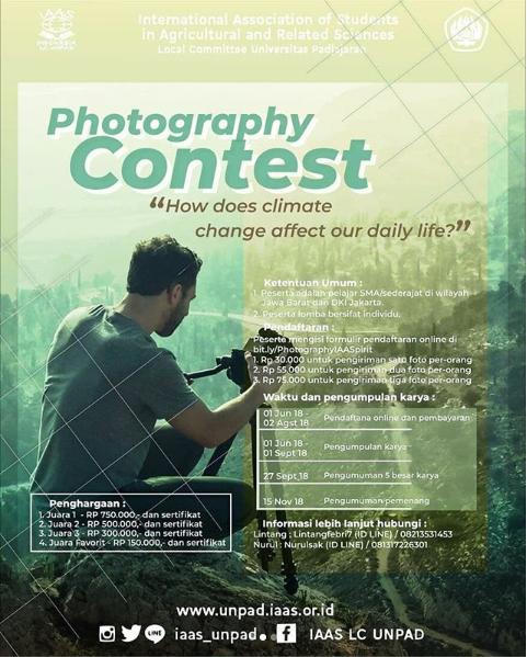 Lomba Fotography Contest Unpad 2018
