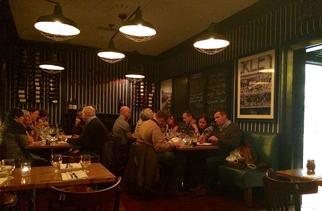Ryans F.X. Huxley Steakhouse Dublin Restaurant Review