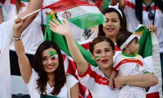 Suporter cantik Iran piala dunia 2018