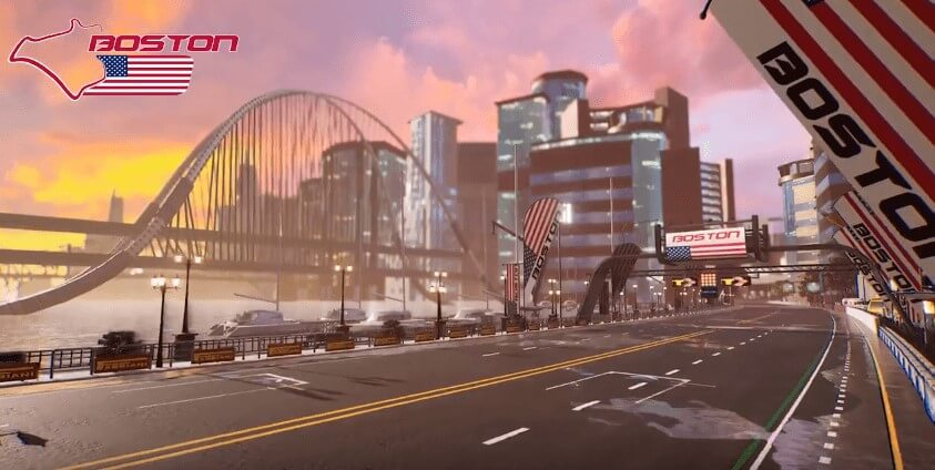 Xenon Racer New City Showcase Trailer Shows Tracks In Boston And Lake Louise