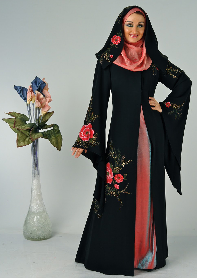 Awesome Fashion 2012 Awesome Abaya Designs 2012
