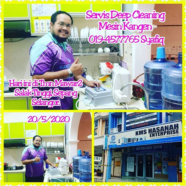 Servis Deep Cleaning Tahunan