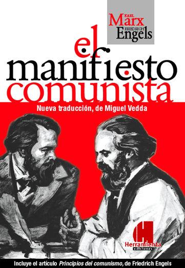 La Alpargata Solidaria Vendo O Intercambio El Manifiesto Comunista De Karl Marx Y Friedrich Engels