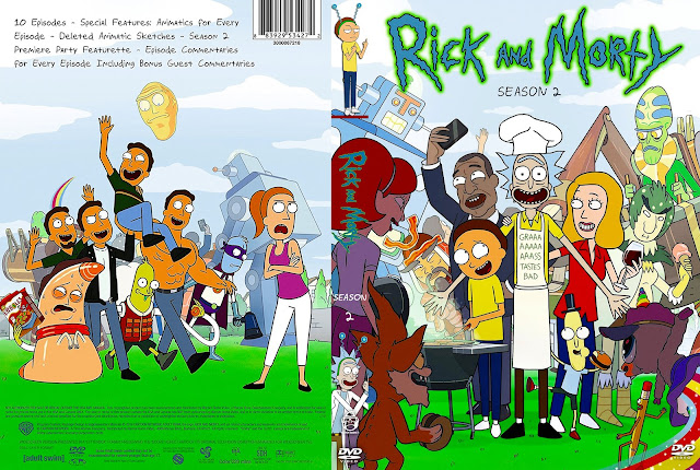Rick And Morty Season 2 DVD Cover