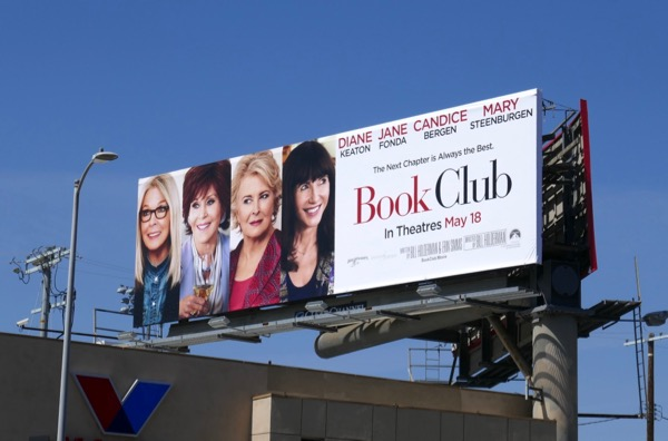 Book Club movie billboard