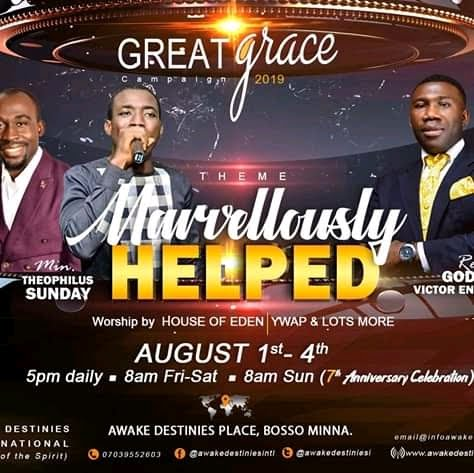 [EVENT] Great Grace Campaign 2019 With Pastor Meshach Alfa and Minister Theophilus Sunday