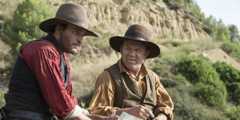 Joaquin Phoenix & John C. Reilly the sisters brothers