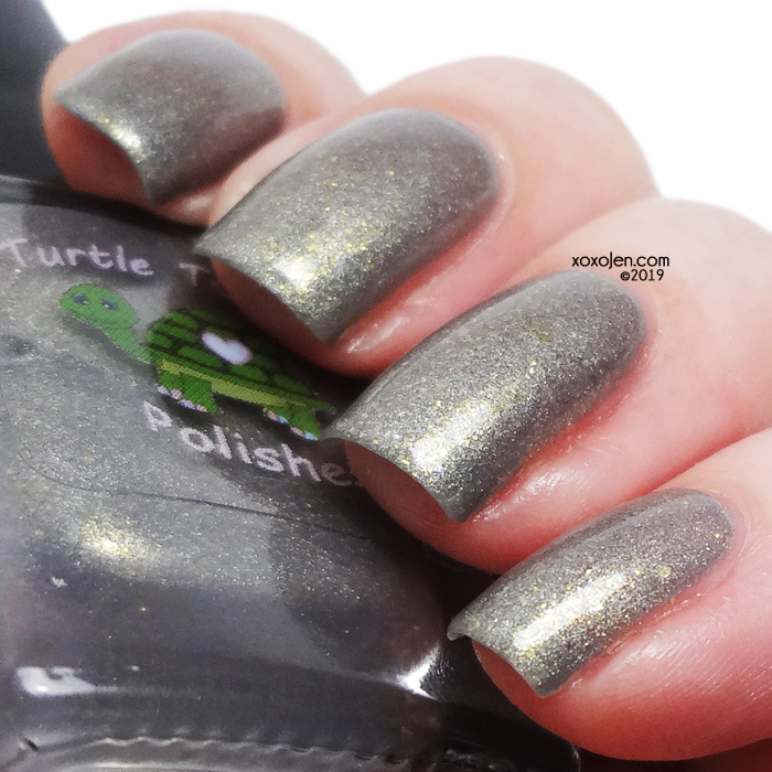 xoxoJen's swatch of Turtle Tootsie Polishes Blustery Day