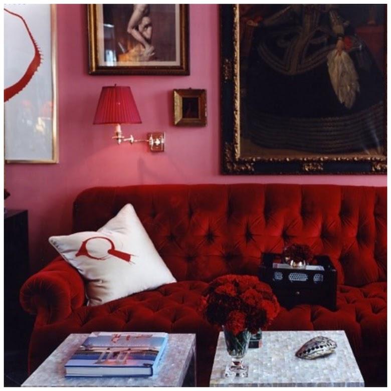 różowe wnętrze, różowy we wnętrzu, różowe wnętrze inspiracje