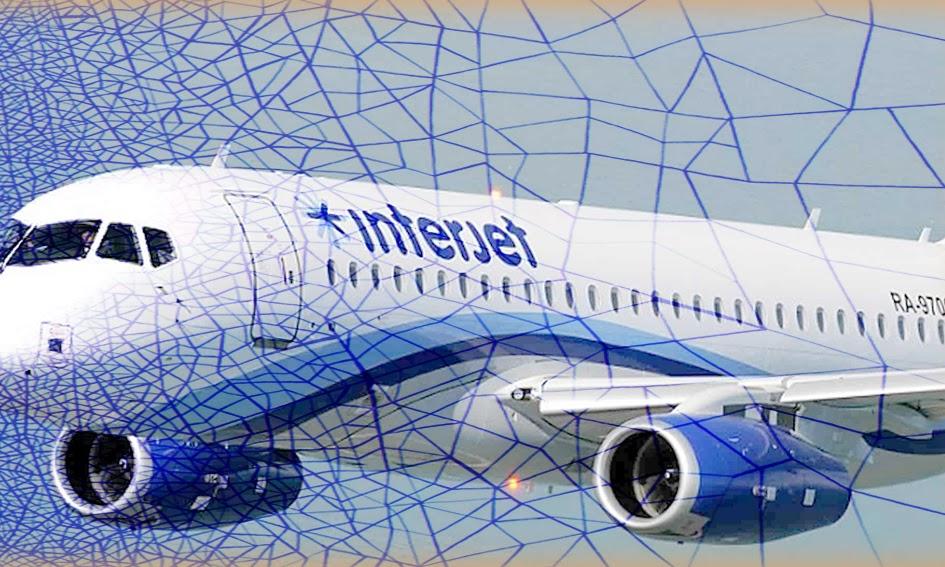 vuelos, avion, interjet