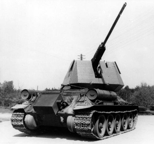Чехословацкие ЗСУ на базе Т-34-85 с пушкой R10