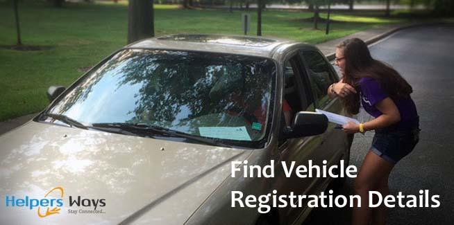 How Find Car Registration