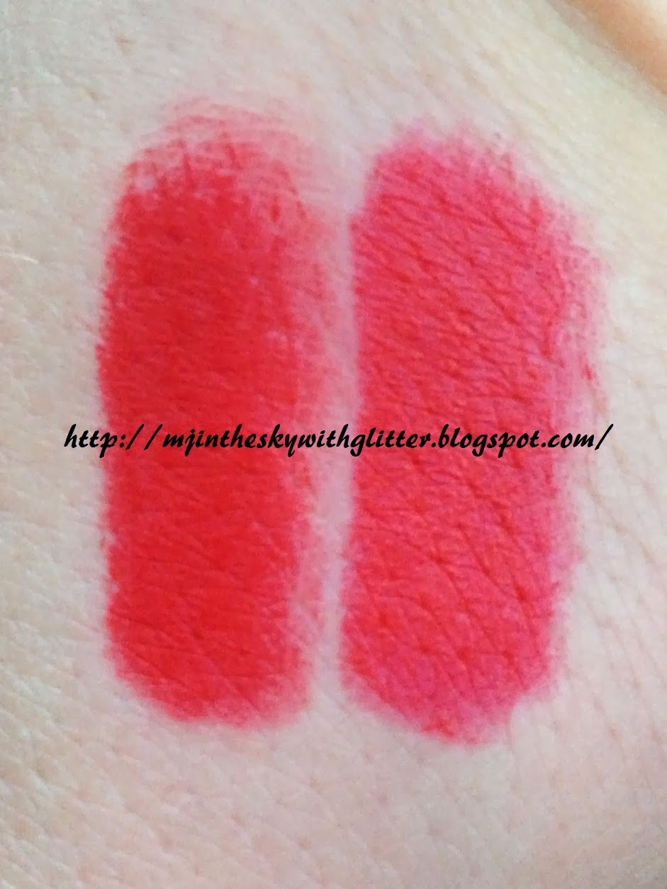 MJ in the Sky with Glitter: MAC DUPES - RED, BRIGHT AND DARK