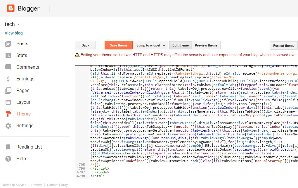 How Install Blogger XML File Template Step Per Step