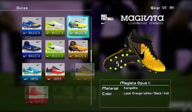 Nike Magista Opus II 2017-2018 Boots - PES 2013 - PATCH PES  b1dd379c55641