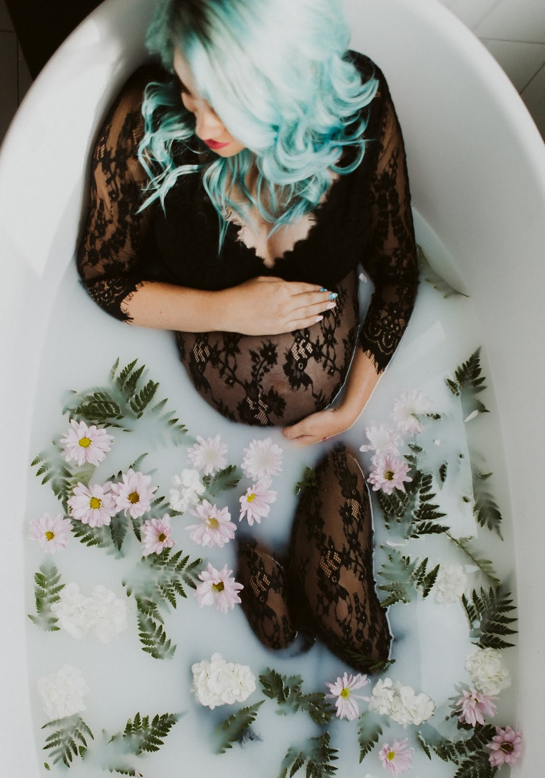 Maternity Milk Bath, Flower Bath