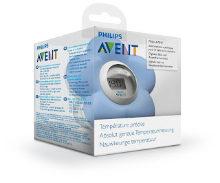 Thermometer for bath and rooms, baby's safety,Philips AVENT SCH550/20, blue £11.72