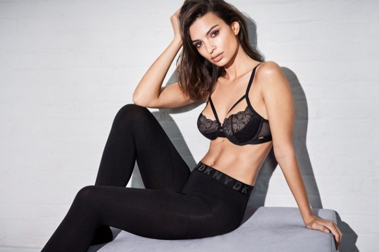 Emily Ratajkowski Sizzles in DKNY Intimates Fall 2018 Campaign