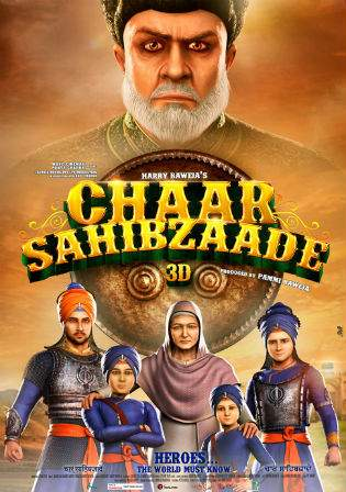 Chaar Sahibzaade 2014 DVDRip 400Mb Hindi Multi Audio 480p Watch Online Full Movie Download bolly4u