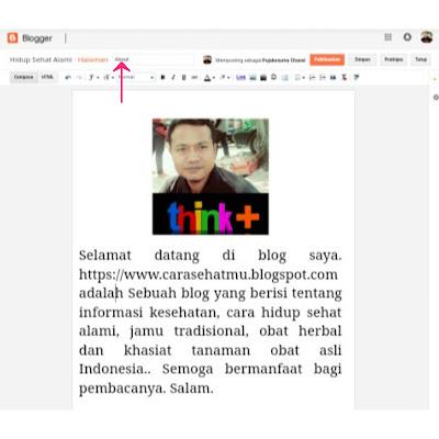 Cara Membuat Halaman About Dan Contohnya
