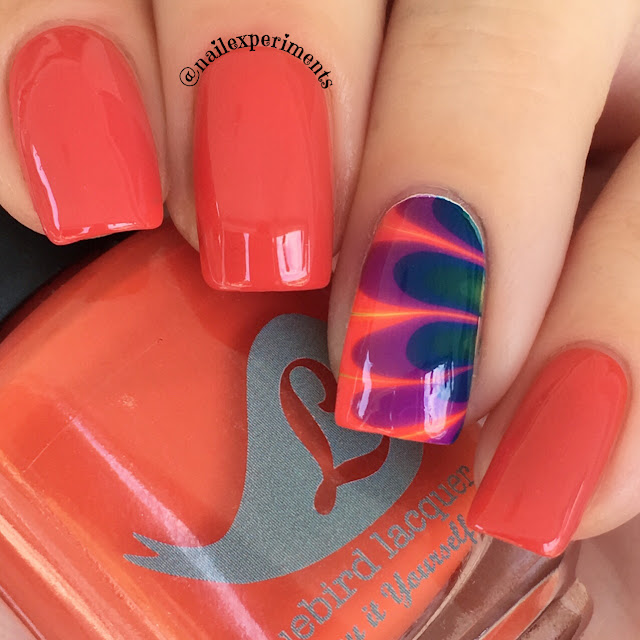 Bluebird lacquer rainbroversity advanced algebrah swatch