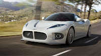 Spyker B6 Venator concept white close up