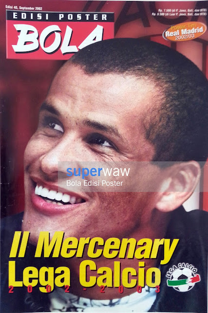Bola Edisi Poster - Il Mercenary Lega Calcio 2002-2003