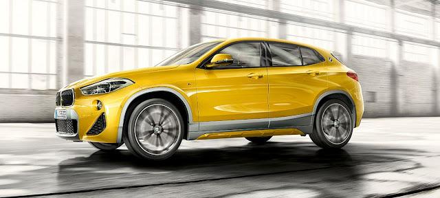 Novo BMW X2 2018: lançamento no Brasil em março