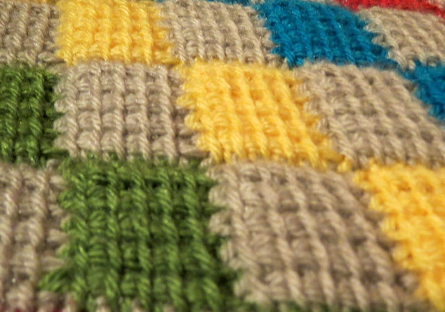 Sweet Bee Buzzings: Entrelac: My New Project