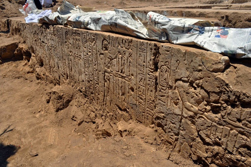 Ptolemaic temple uncovered in Gebel El-Nour