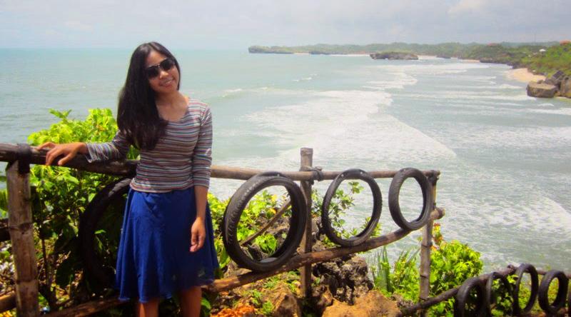 cewek cantik pakai baju ketat dan rok mini cewek Igo seksi Lokasi dan Akses Pantai Indrayanti
