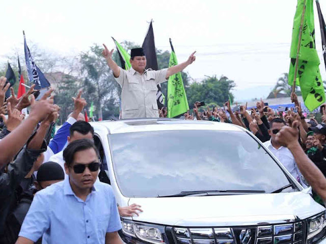 Prabowo Subianto Komitmen Jaga Kesatuan NKRI, Pancasila dan UUD 1945