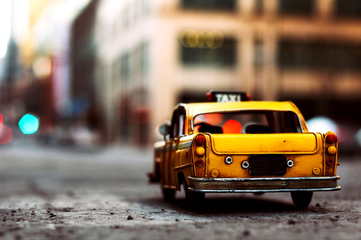 Yellow Cab Car Toy Photo Hd Wallpaper Image Wallpapers Hd