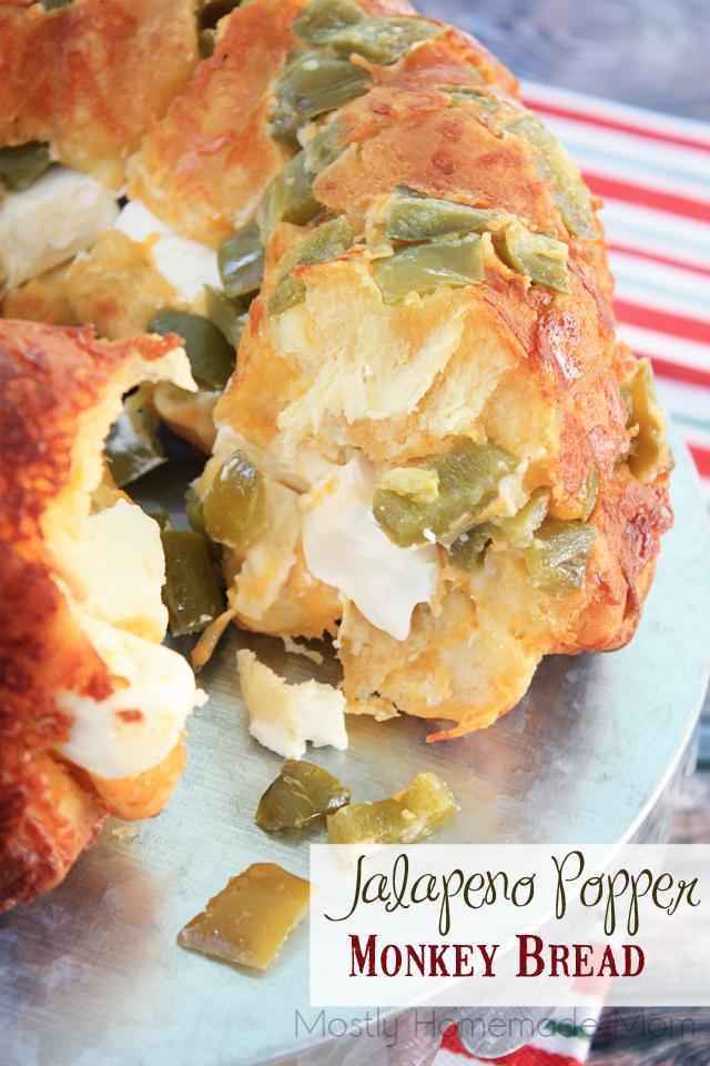 Jalapeno Popper Monkey Bread