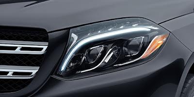 2016 Mercedes GLS 400 4MATIC headlight