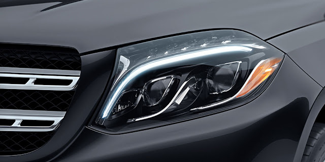 2016 Mercedes GLS 400 4MATIC headlight