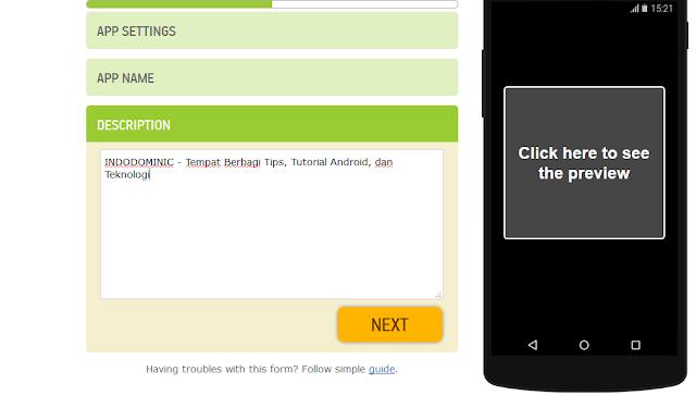 membuat aplikasi android berbasis web