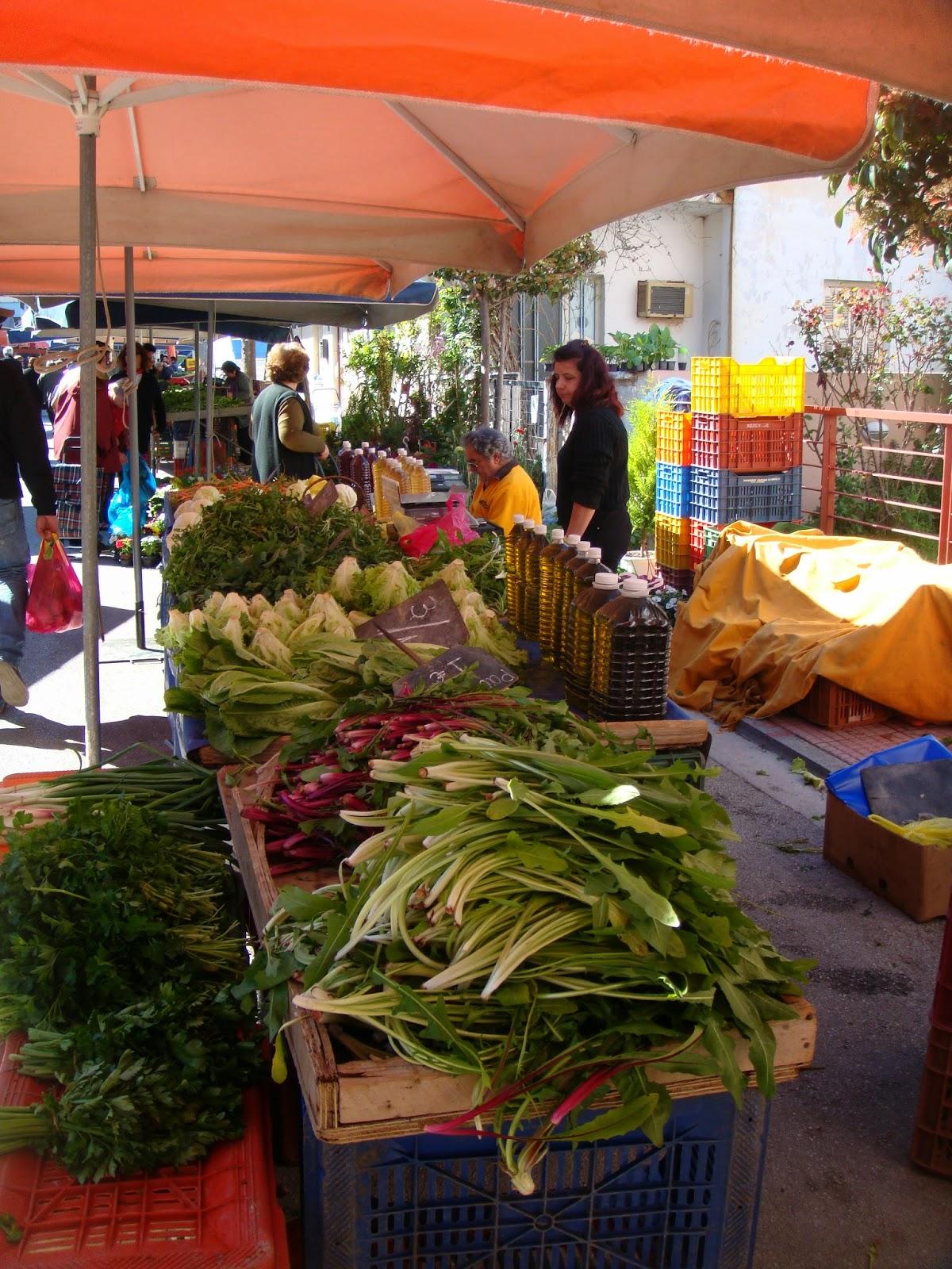 Loutraki street market