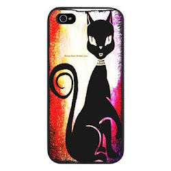Best Seller Retro Diva Cat iPhone 5 Case