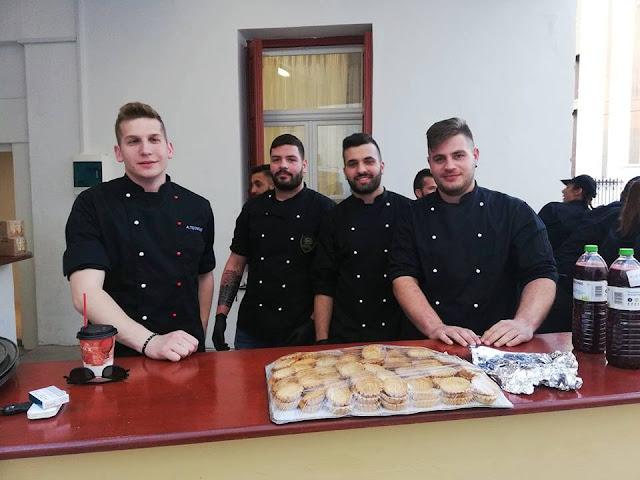 Ρεσιτάλ μαγειρικής τέχνης από μαθητές της Επαγγελματικής Σχολής ΟΑΕΔ Αργολίδας